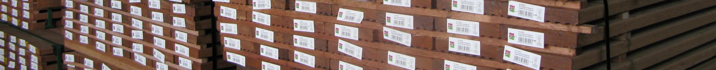 Geschaafd legaal en duurzaam hout voor de DIY sector