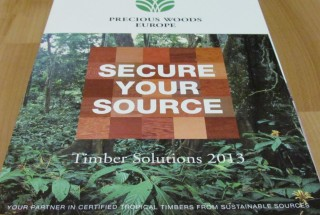Productblad FSC hardhout Precious Woods Europe
