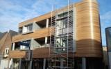 Appartementen afgewerkt met semi-transparante GW310 (grijstint)