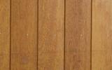 Detailopname Sucupira amarela gevel behandeld met Remmers GW310 pine