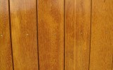 Sucupira amarela FSC detailopname, behandeld met Remmers GW310 kiefer