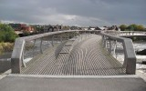 Cumaru brugdekdelen en leuningen, toegepast in UK
