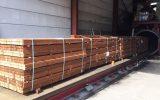 Naaldhout staat klaar voor impregnering