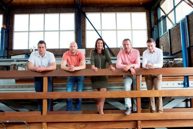 Het Team van Van den Berg Hardhout