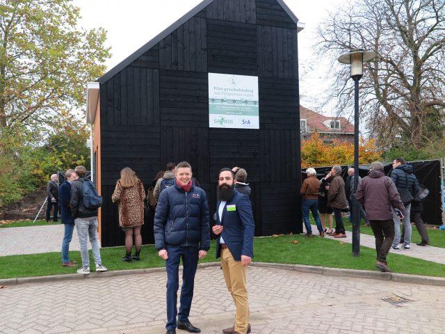 Andries en Raby op het Polypyrrool slotevent te Deventer